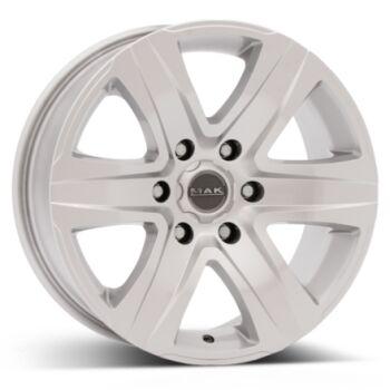 MAK Stone6 Silver alumiinivanne