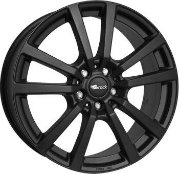 BROCK RC25T Black Matt alumiinivanne