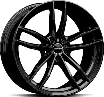GMP Swan Glossy Black alumiinivanne