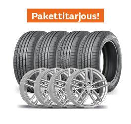 Nokian Hakka Green 3 & Dezent TR Silver