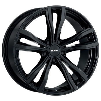 MAK X-Mode Gloss Black alumiinivanne