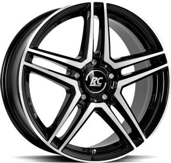 Brock RCD17 Black Full Polish alumiinivanne