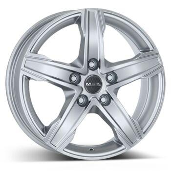 MAK King 5 Silver alumiinivanne