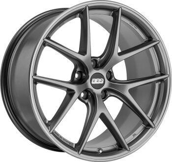 BBS CI-R Platinum Silver alumiinivanne
