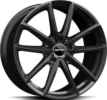 GMP Titan Glossy Black alumiinivanne
