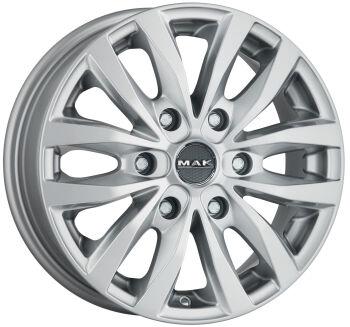 MAK Load 6 Silver alumiinivanne