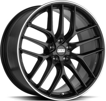 BBS CC-R Satin Black alumiinivanne