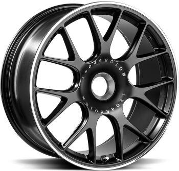BBS CH-R ZV Satin Black alumiinivanne