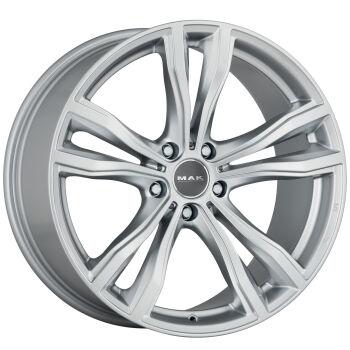 MAK X-Mode Silver alumiinivanne