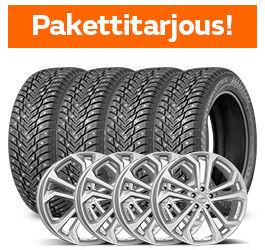 Nokian Hakkapeliitta 10 SUV & Dezent TA Silver