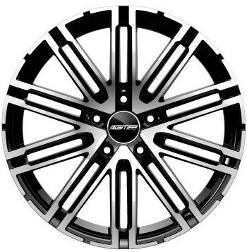 GMP Targa Black Diamond alumiinivanne