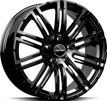 GMP Targa Glossy Black alumiinivanne
