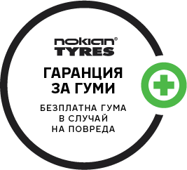 Гаранция за Гумите на Nokian Tyres