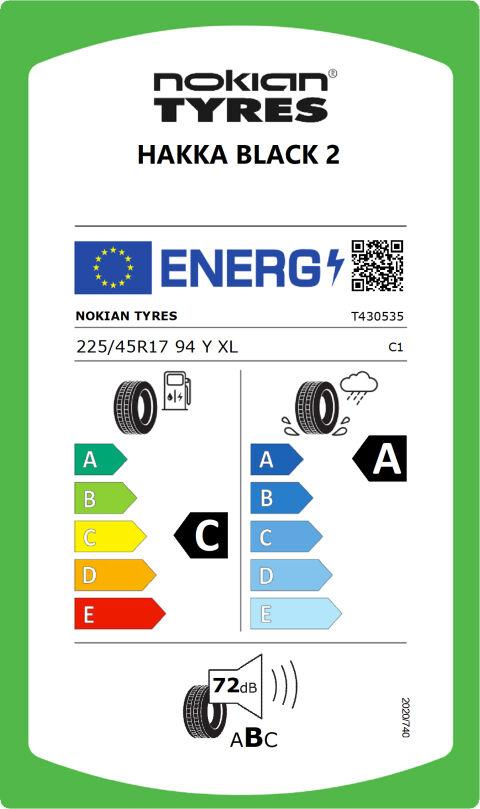 EU-däckmärkning: T430535