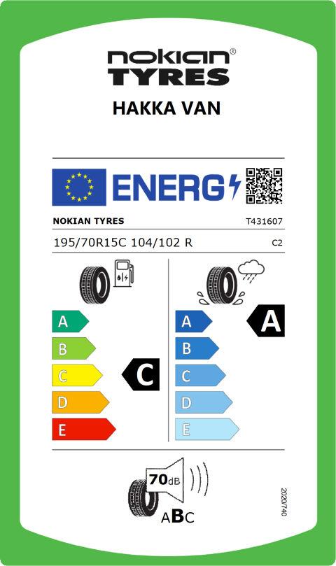 EU-däckmärkning: T431607