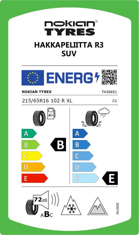 EU-dekkmerking: T430651