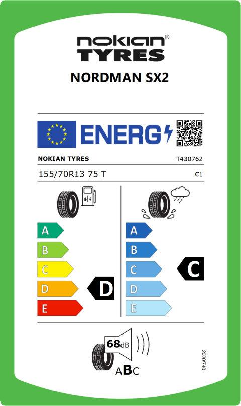 EU-däckmärkning: T430762