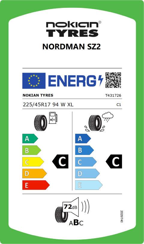 EU-däckmärkning: T431726