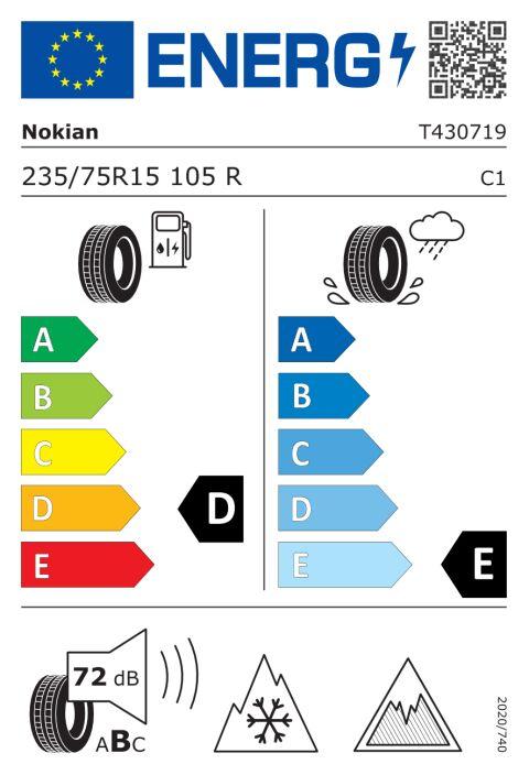 EU-dekkmerking: T430719