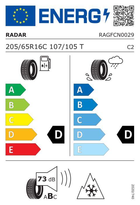 EU-däckmärkning: RAGFCN0029