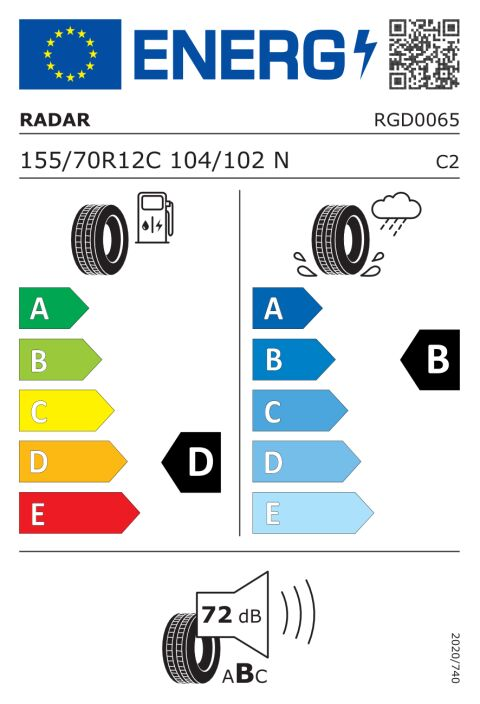 EU-dekkmerking: RGD0065
