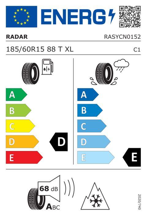 EU-däckmärkning: RASYCN0152