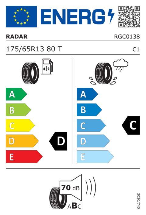 EU-däckmärkning: RGC0138