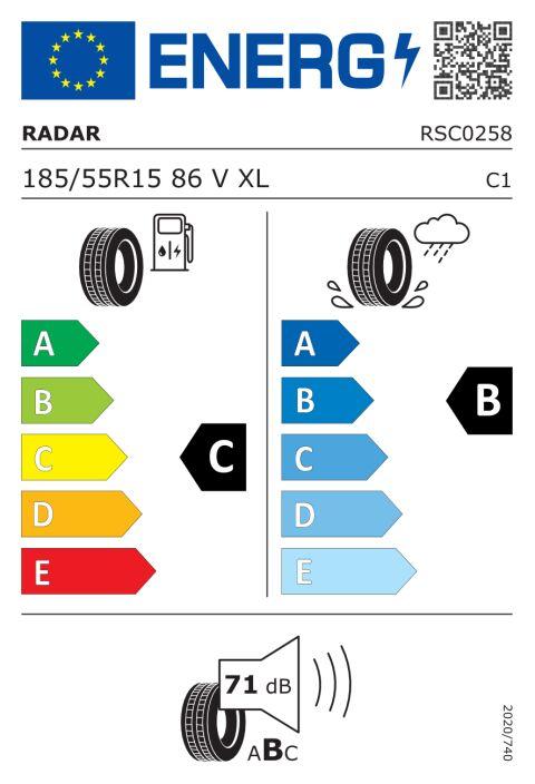EU-däckmärkning: RSC0258