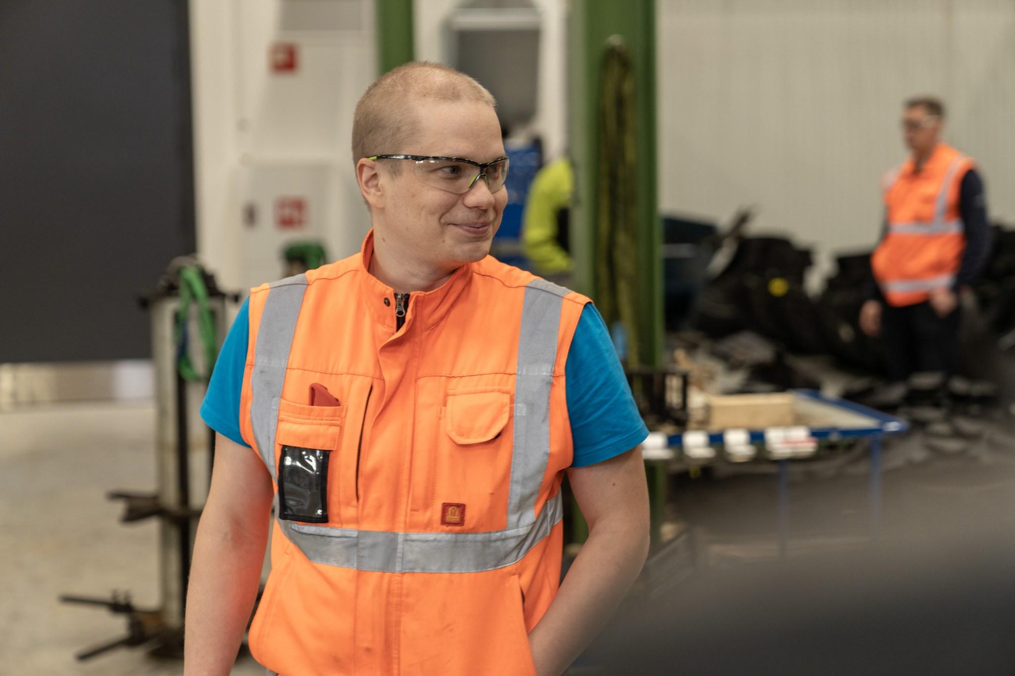 Produktutviklingssjef hos Nokian Heavy Tyres Matti Kaunisto