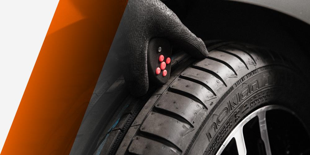SnapSkan skannar mönsterdjupet på dina däck